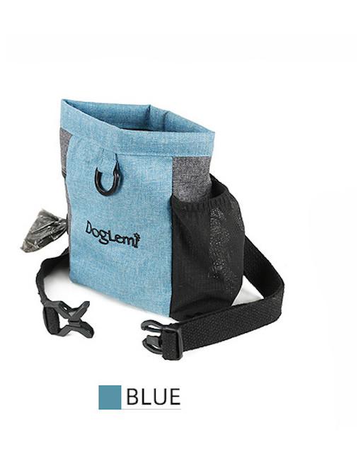 Handige draagtas voor training hond - BLAUW
