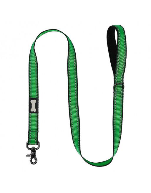 Reflecterende hondenlijn training - LARGE - GROEN