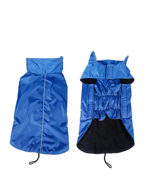 Warm waterproof jasje voor honden - EXTRA SMALL - BLAUW