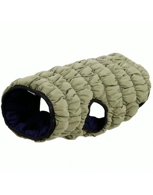 Super warm winterjasje voor honden - omkeerbaar - Elastisch - SMALL - GROEN