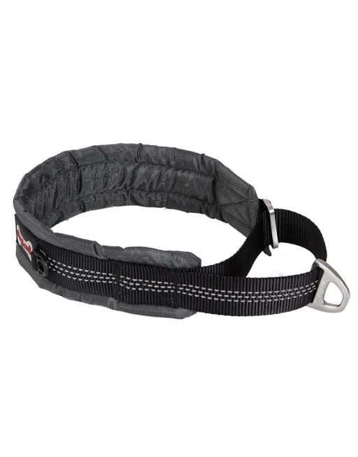Comfortabele reflecterende halsband voor honden - EXTRA SMALL - GRIJS
