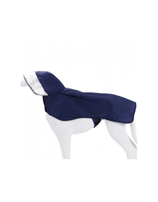 Waterproof regenjas voor honden - EXTRA SMALL - BLAUW
