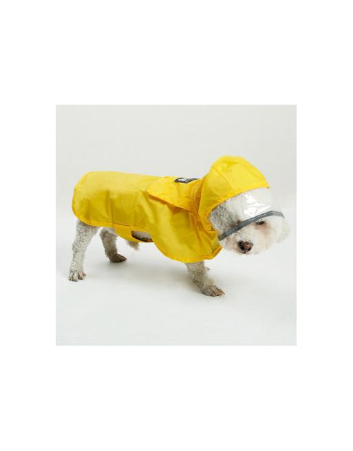 Waterproof regenjas voor honden - EXTRA SMALL - GEEL