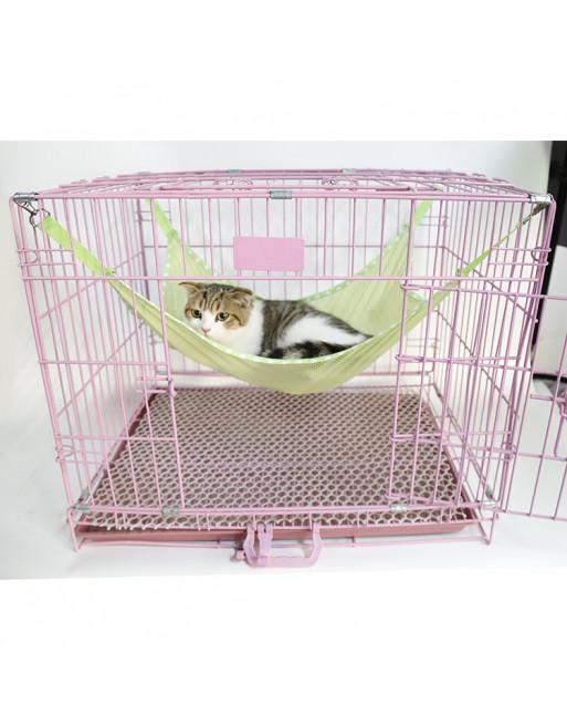 Speelse hangmat voor katten - 35x35cm - GROEN