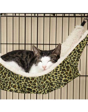 Trendy hangmat voor katten...