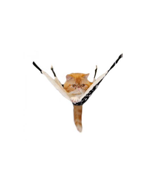 Trendy hangmat voor katten - katten hangmat - hang mat - SMALL - ZEBRAPRINT