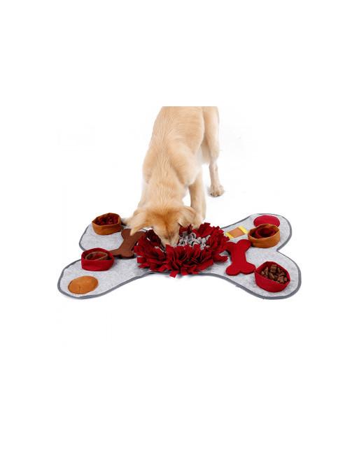 Multi snuffelmat voor honden - De ideale beweging voor uw hond - slow eating training