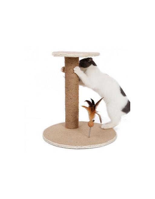 Krabpaal voor poezen - katten - 37 x 37 x 40.5cm - speeltuig voor kat