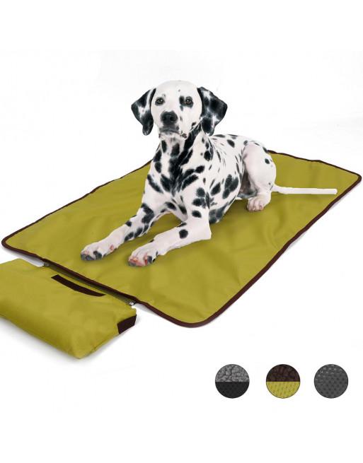 Tasje met outdoor deken ideaal voor uitstapjes - 100 x 70 cm - GROEN