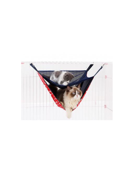 Superleuke dubbele hangmat voor katten - poezen model - ZOMER