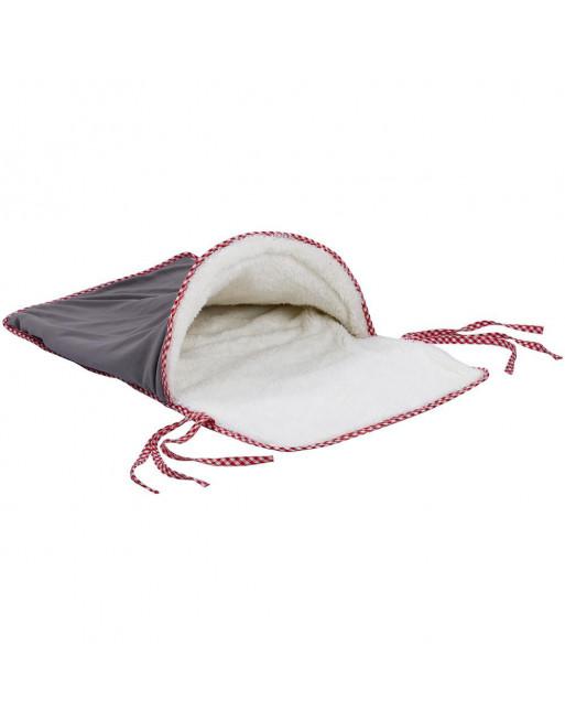 Speels knus fleece slaapdeken voor katten - maakt rispelend geluid - Cat kennel cave 70 x 38 cm
