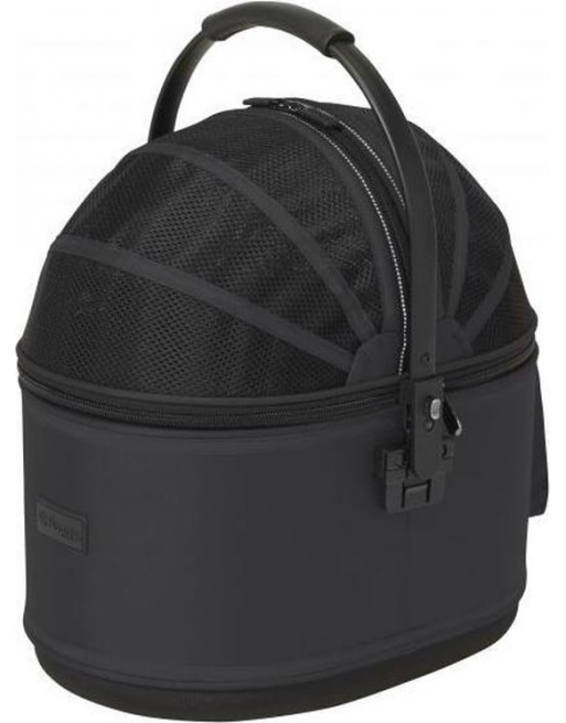 Reismand Hondenbuggy met ventilatiegaas - 44x30x53 cm - Zwart