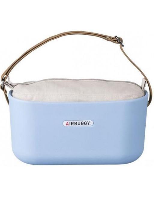 Accessoire praktische handtas hondenbuggy 31x14x37 cm - Lichtblauw