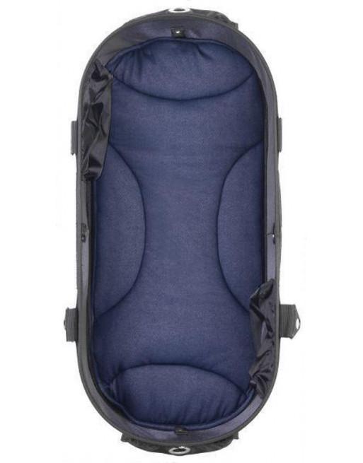 Mat/kussen voor in hondenbuggy Dome 2 M 65x31 cm - Denim blauw