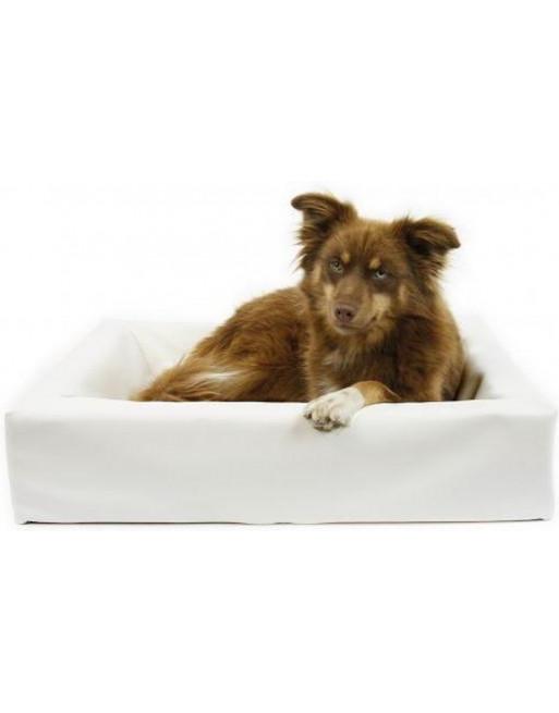 Giga hondenmand - XL - 100 x 120 x 15 cm - wit