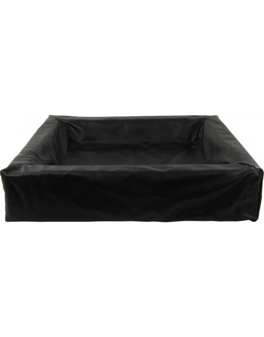 Middel kleine hondenmand - S - 60 x 70 x 12 cm - Zwart