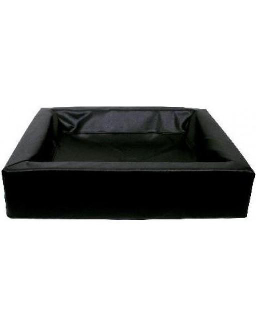 Kleine hondenmand - XS - 60 x 50 x 12 cm - Zwart