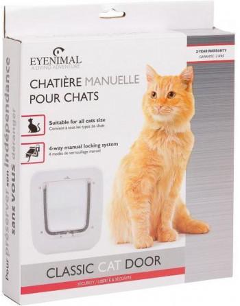 Klassiek kattenluik met 4...