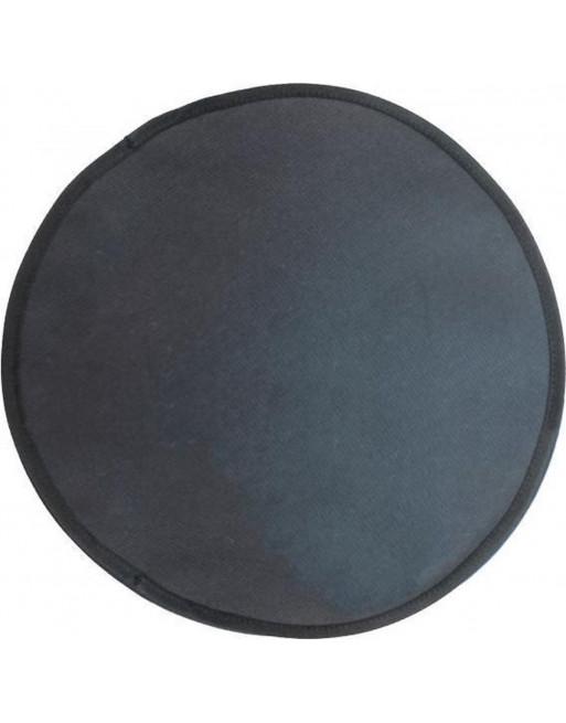 Thermische ligmat voor hightech katten - domus - 35 x 35 cm - zwart/ donkergrijs