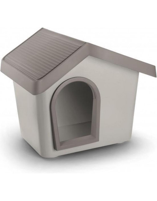 Hondenhok - zeus 50 - 53 x 46 x 47,5 cm - grijs