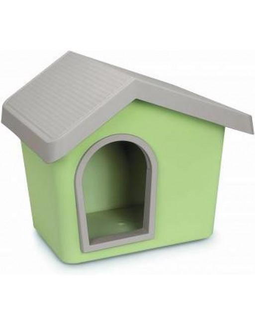 Hondenhok - zeus 50 - 53 x 46 x 47,5 cm - munt groen