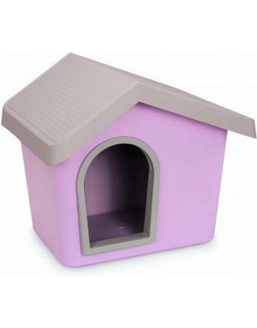 Hondenhok - zeus 50 - 53 x 46 x 47,5 cm - roze