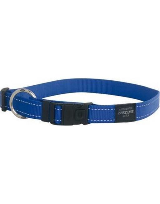 Halsbanden voor honden - lumberjack - 25 mm x 43-73 cm - blauw
