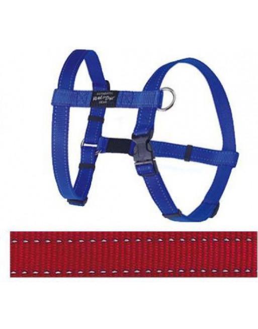 Hondenharnas - 20 mm x 45-75 cm - Fanbelt - Rood