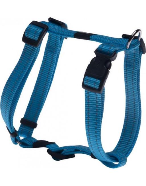 Hondenharnas - 20 mm x 45-75 cm - Fanbelt - Turquoise