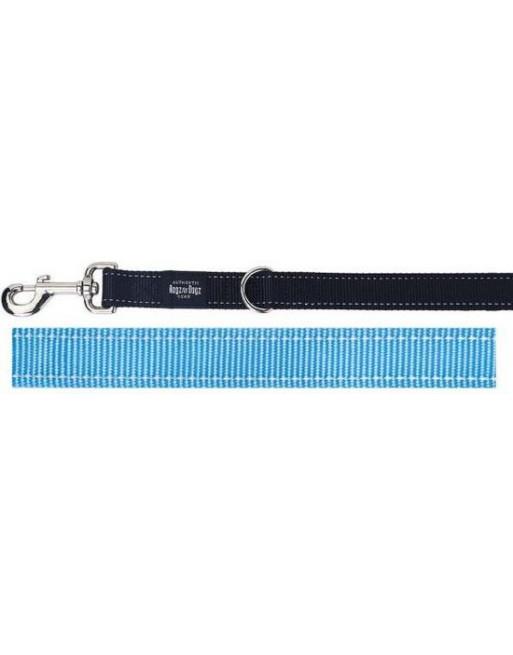 Multifunctionele leiband voor honden - 25 mm x 1,6 m - Lumberjack - Turquoise