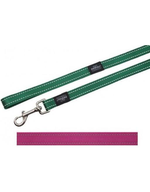 Lange leiband voor honden - 20 mm x 1,8 m - Roze