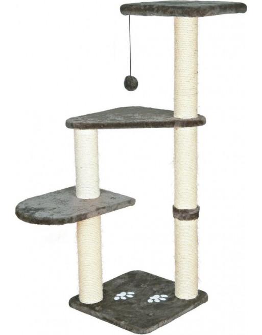 Krabpaal met ligplaatsen 40 x 40 x 117 cm - Grijs