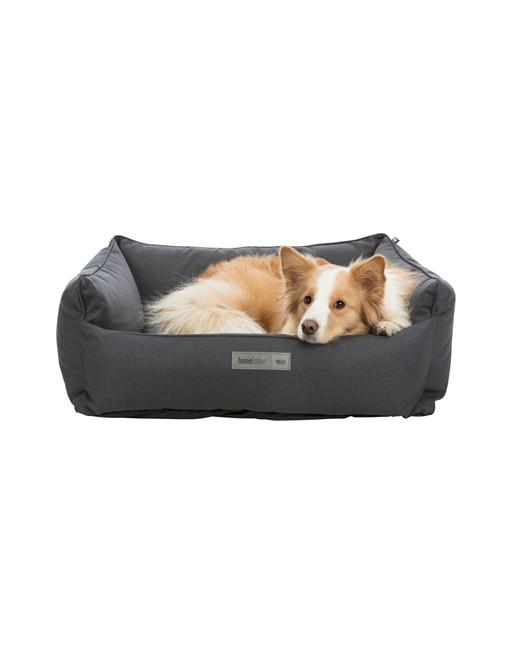Moderne hondenmand - Farello - 100 x 70 cm - Zwart
