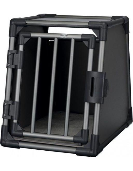 Vervoersbox uit aluminium - 61 x 48 x 56 cm - Zwart