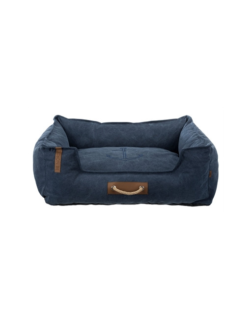 Zachte hondenmand - Be Nordic stijl - 100 x 80 cm - Donkerblauw