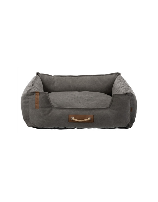 Zachte hondenmand - Be Nordic stijl - 80 x 60 cm - Donkergrijs