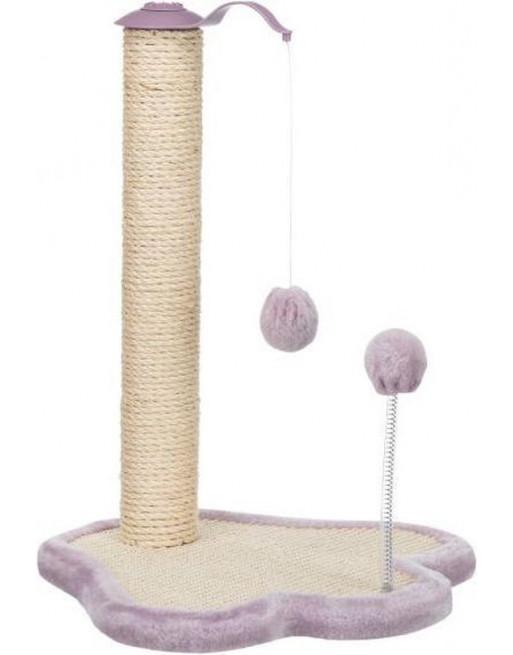 Speelse krabpaal - junior - 40 x 38 x 50 cm - Lila