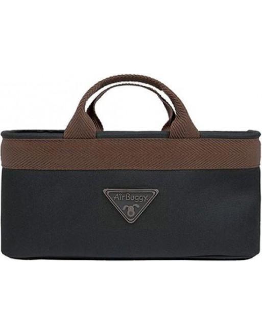 Accessoire handtas voor airbuggy/hondenbuggy - 38 x 12 x 17 cm - Bruin