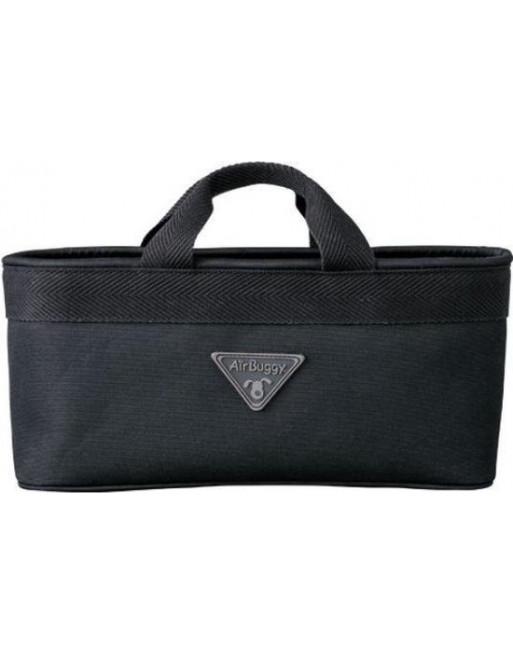 Accessoire handtas voor airbuggy/hondenbuggy - 38 x 12 x 17 cm - Volledig Zwart