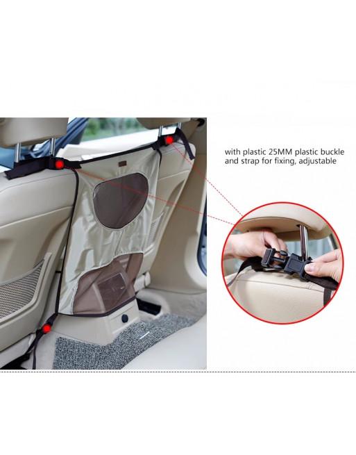 Autozetelbescherming - tussenschot voor honden - BEIGE