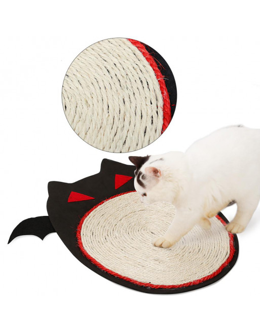 Krabmat voor katten in een speelse vormgeving - HALLOWEEN