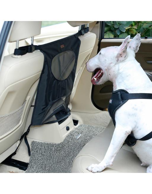 Autozetelbescherming - tussenschot voor honden - ZWART