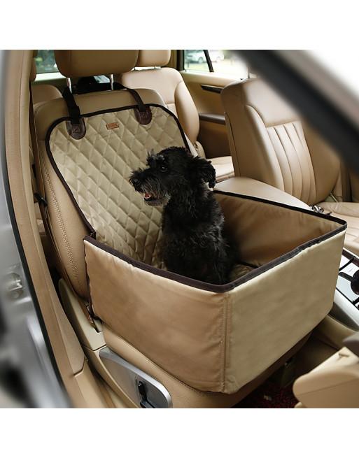Auto zetelbescherming voor de hond - BEIGE