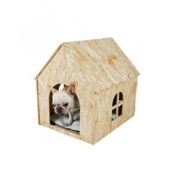 honden manden en huisjes